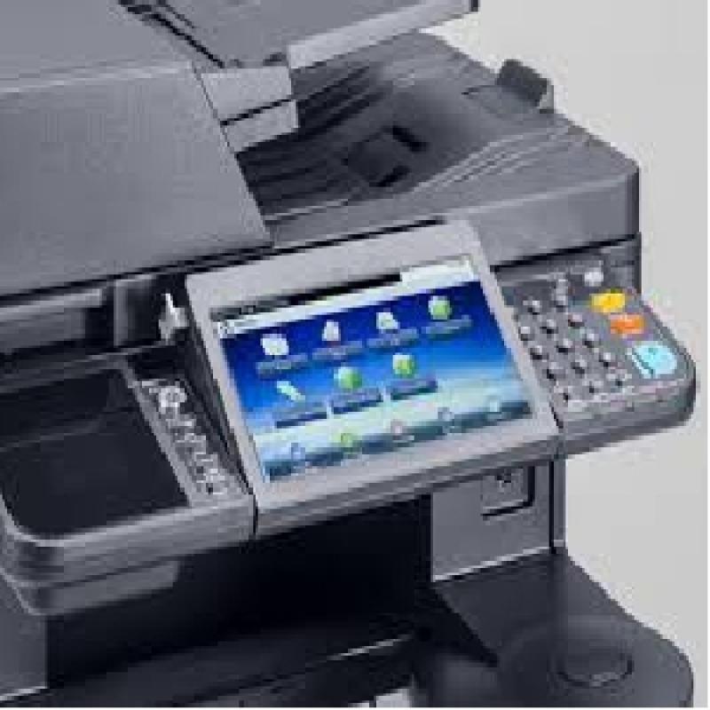 Aluguel de Máquina Copiadora Kyocera Preço Cajamar - Aluguel de Máquina Copiadora