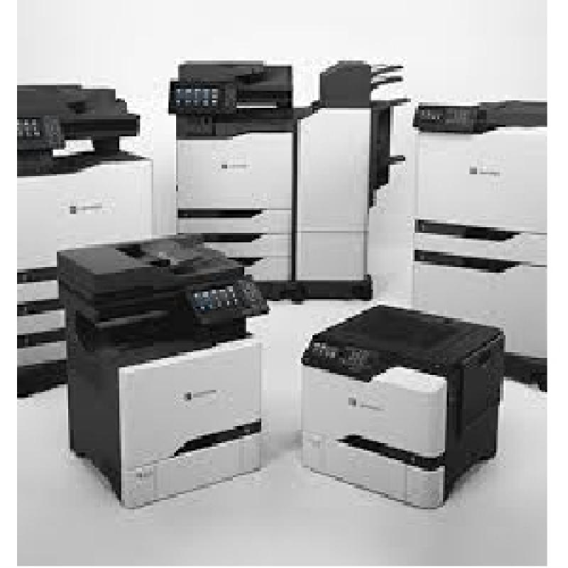 Outsourcing de Impressão Lexmark Preço São Vicente - Outsourcing de Impressão Samsung