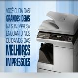 aluguel de copiadora Vila Anastácio