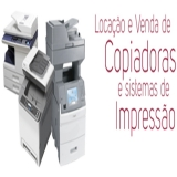 aluguel de impressora a laser econômicas Pacaembu