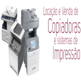 aluguel de impressora laser preto e branco Brás