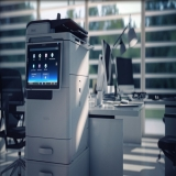 aluguel de impressora multifuncional a laser colorida Glicério