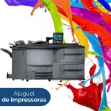 aluguel de impressoras a laser colorida preço Água Branca