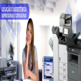 aluguel de máquina copiadora para papelaria preço Santa Cecília