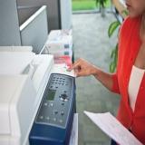 empresa de locação de impressora a laser monocromática Aclimação