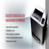empresas de locação de impressoras a laser Anália Franco