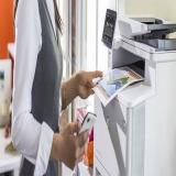locação de impressora para escritório preço Santos