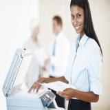locação de impressoras a laser para empresas preço Vila Romana