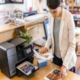 locação de impressoras canon para serviços Santa Cecília
