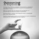 serviço de outsourcing em empresa Barra Funda