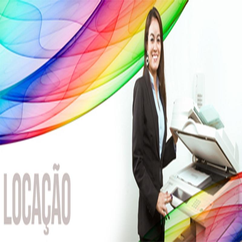 Aluguel de Máquina Copiadora para Escritório Preço São Caetano do Sul - Aluguel de Máquina Copiadora Impressora