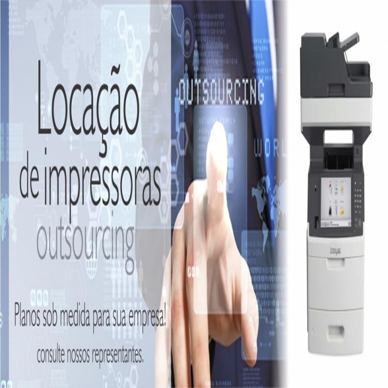 Aluguel de Multifuncional para Empresa Santa Isabel - Aluguel de Multifuncional Colorida a Laser