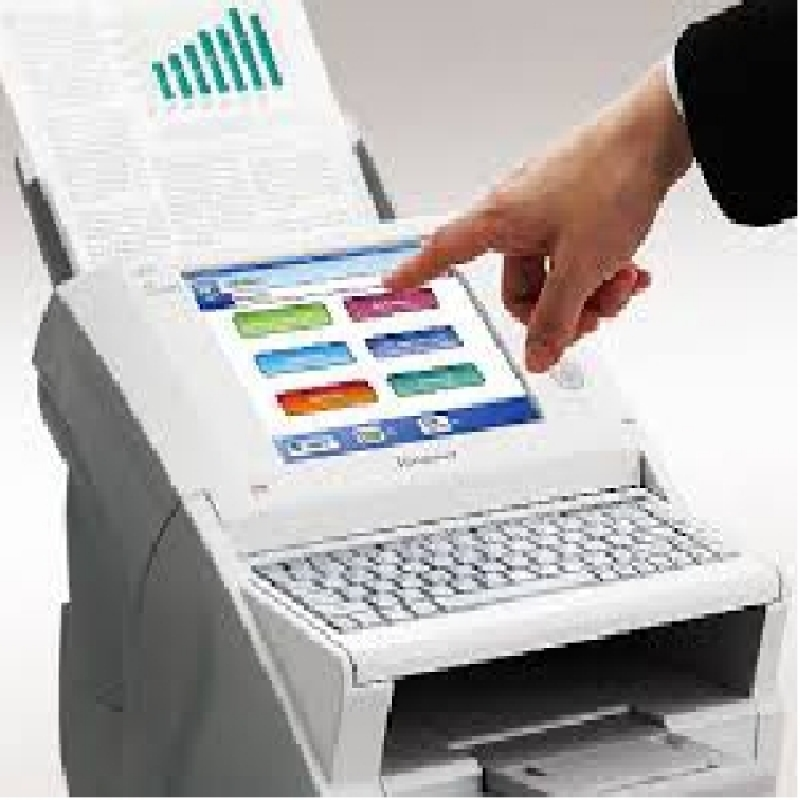 Aluguel de Scanner para Empresa Santo André - Locação de Scanner Fujitsu