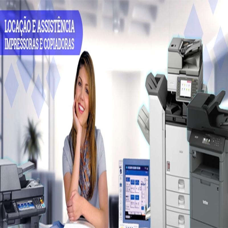 Máquinas Copiadoras e Impressoras São Bernardo do Campo - Máquinas Copiadoras Industriais