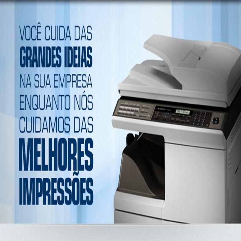 Máquinas Copiadoras Sharp Cupecê - Máquinas Copiadoras Industriais