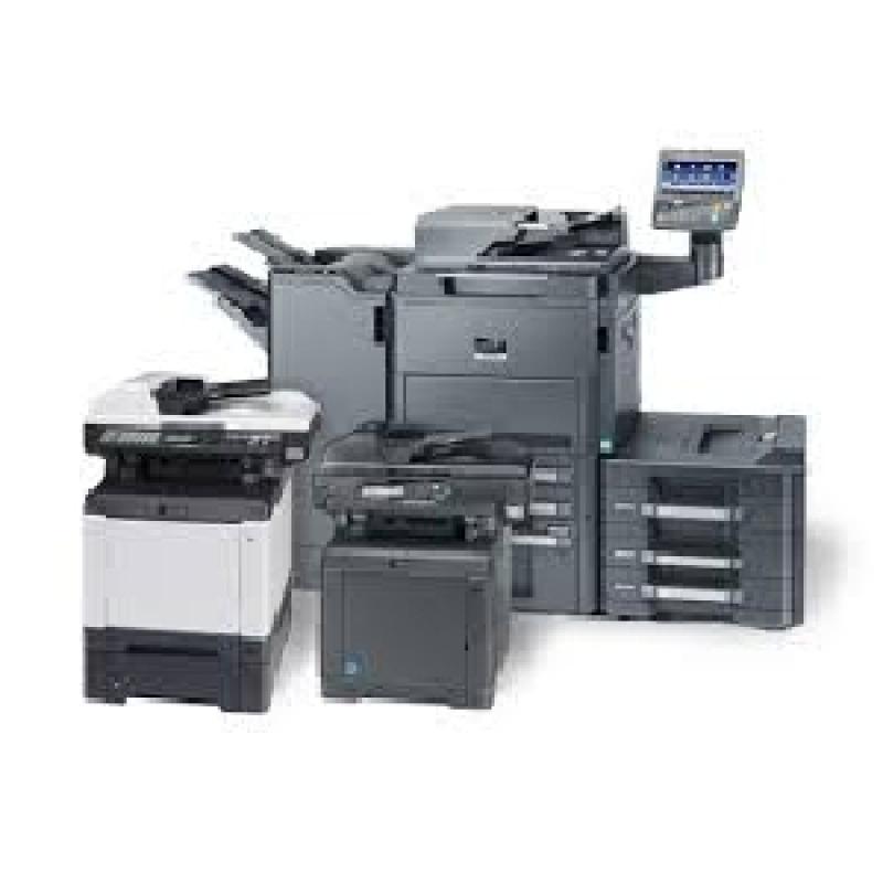 Onde Encontro Máquina Copiadora Kyocera para Alugar Santa Efigênia - Aluguel de Máquina Copiadora para Escritório