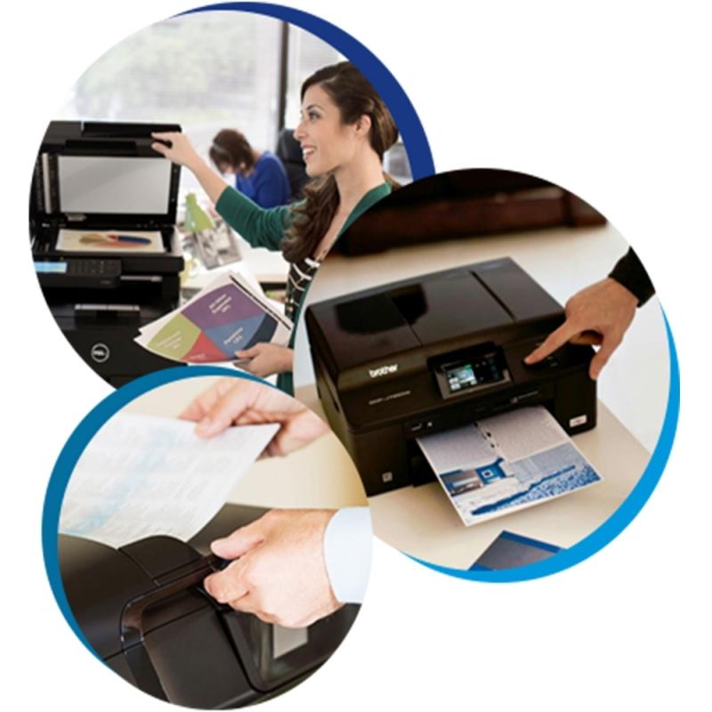 Onde Encontro Máquina Copiadora Profissional para Alugar Poá - Aluguel de Máquina Copiadora Brother