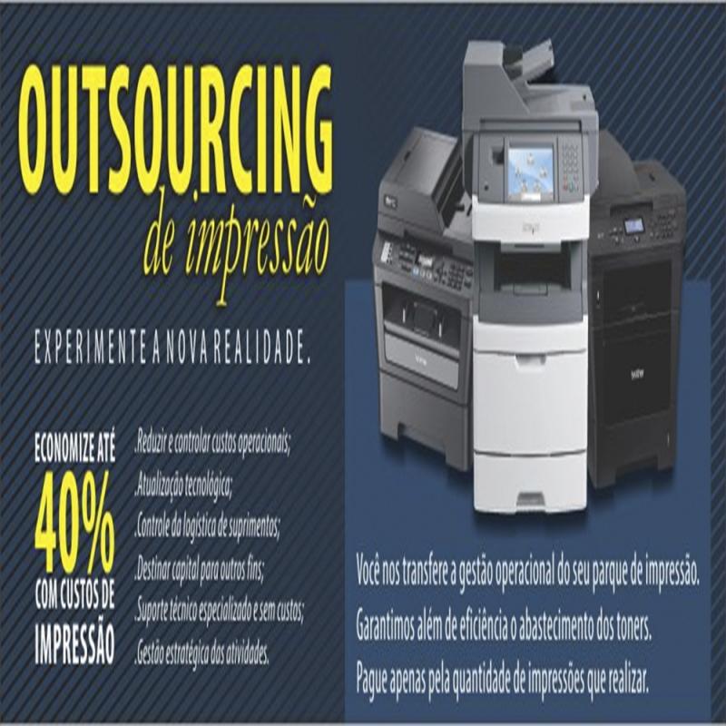 Outsourcing de Impressão para Indústria Preço Guarulhos - Outsourcing de Impressão Samsung
