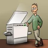 alugar impressoras para escola Luz
