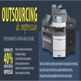 empresa de outsourcing de impressão completa Água Branca