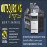 empresa de outsourcing de impressão para pequena empresa Vila Gustavo