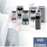 empresas de locação de impressoras para escritório Embu Guaçú