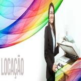 locação de impressora a laser colorida Vila Anastácio