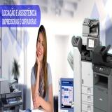 locação de impressora multifuncional Santa Cecília