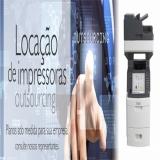 locação de impressora para escritório Cajamar