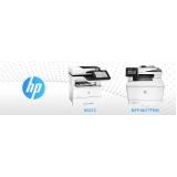 locação de impressoras hp para empresa Saúde