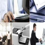 máquinas copiadoras preto e branco